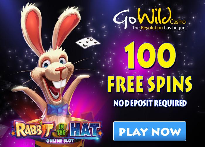 No deposit free spins gowild casino